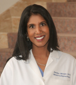 Dr Kavitha Blewett, an OB/GYN physician with the Women's Health Specialists of Dallas