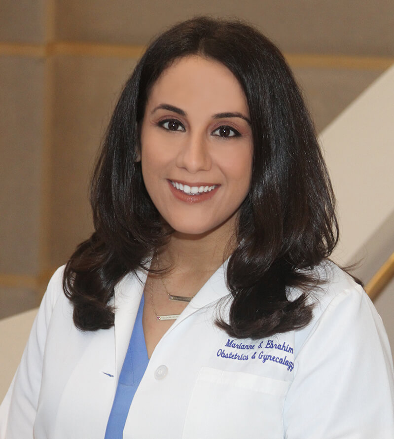 Dr Marianne Ebrahim, an OB/GYN physician with the Women's Health Specialists of Dallas