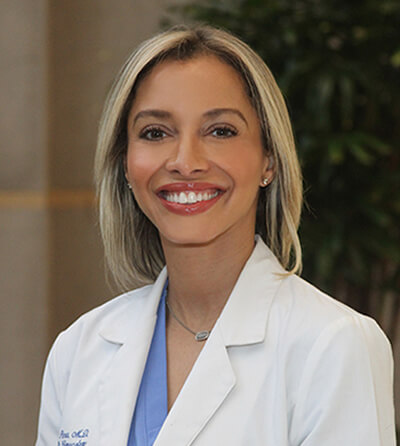 Dr. Roxanne Pero, an OB/GYN physician with the Women's Health Specialists of Dallas