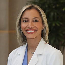 Dr. Roxanne Pero, an OB/GYN physician witht eh Women's Health Specialists of Dallas