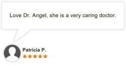 Dr Angela Angel Patient Review by Patricia P