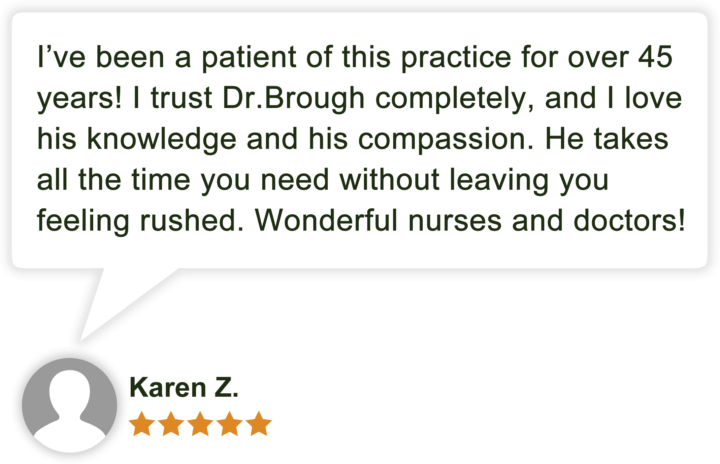 Dr Jonathan Brough Patient Review by Karen Z
