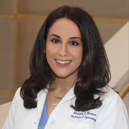 Dr. Marianne Ebrahim, an OB/GYN physician with the Women's Health Specialists of Dallas