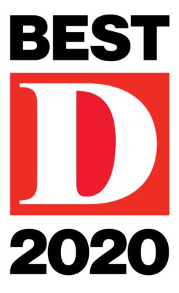 D Magazine Best of 2020 logo